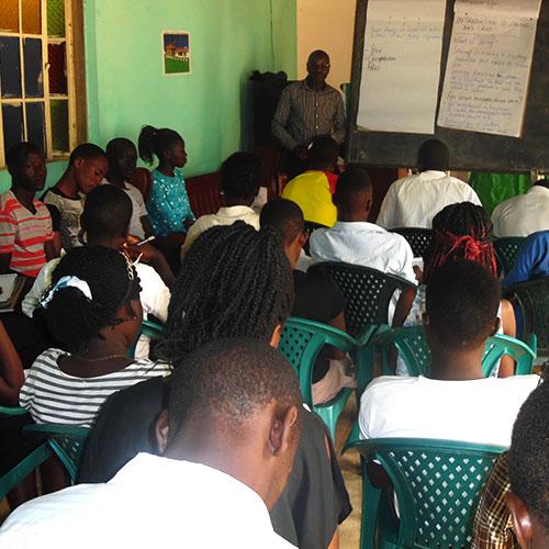 HIV capacity building training